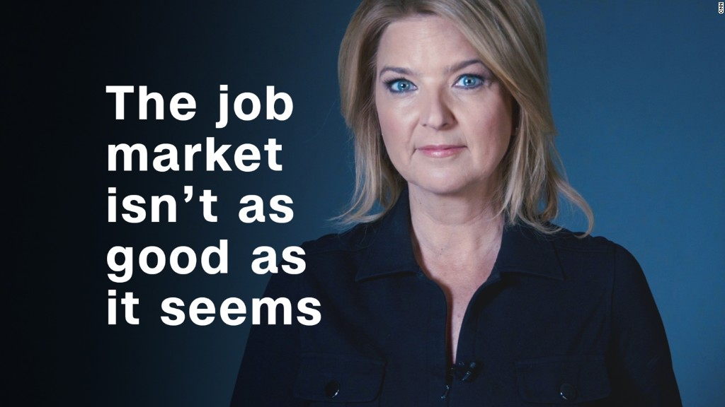 Why the job market isn't as good as it seems