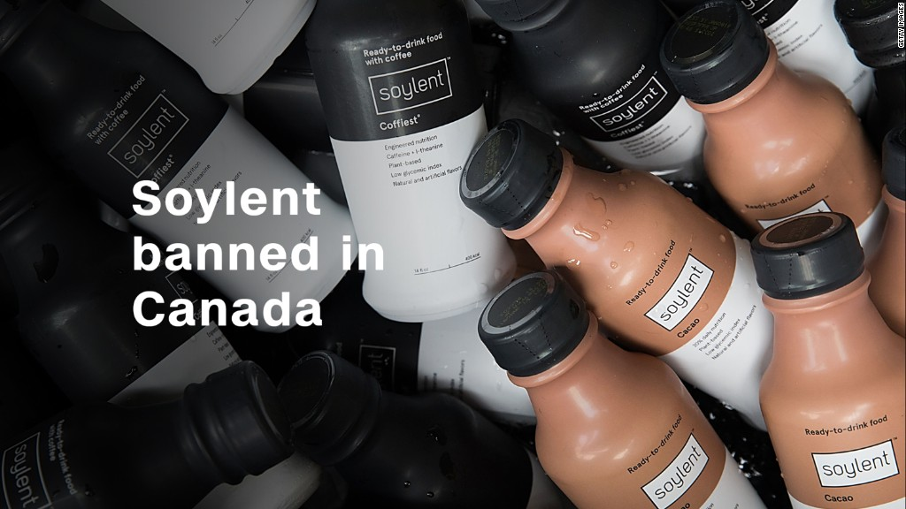 Canada bans meal replacement Soylent