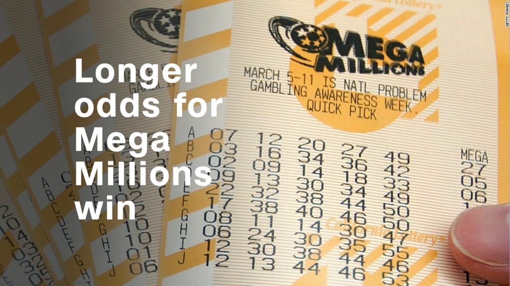 Longer odds for Mega Millions win