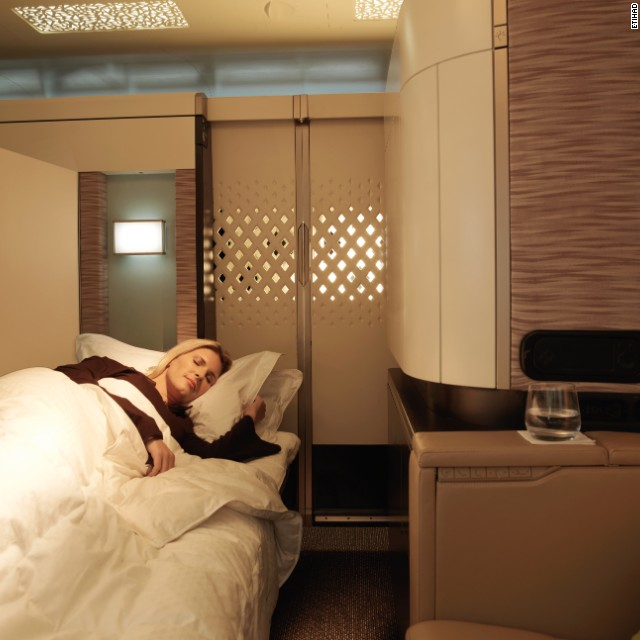 These 12 Airplane Beds Let You Really Sleep On A Flight