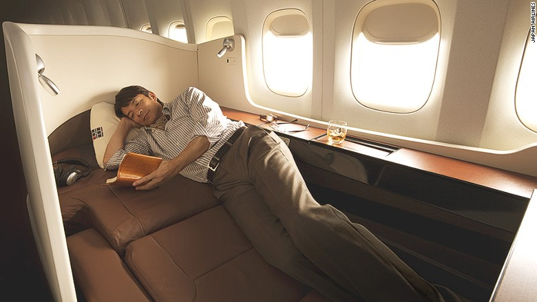 Japan Airlines First Class Suite These 12 Airplane Beds