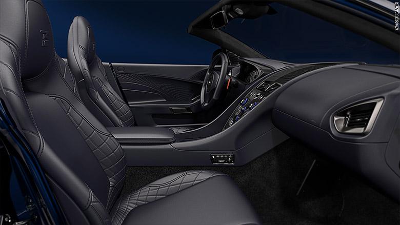 Aston Martin Unveils Tom Brady Edition - Aston martin new england