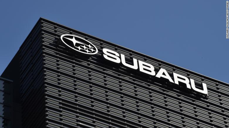 subaru logo headquarters
