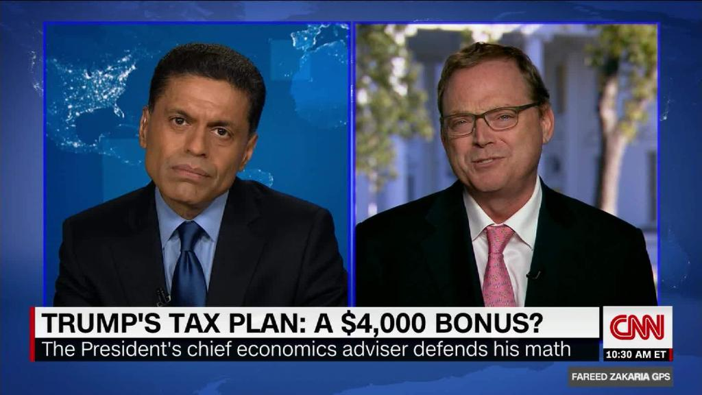 Trump's chief economics adviser defends tax math