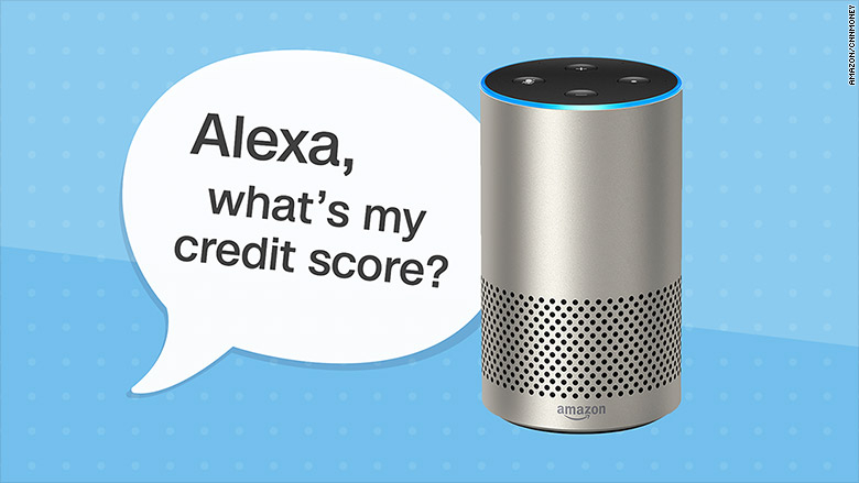 what s my credit score alexa can help