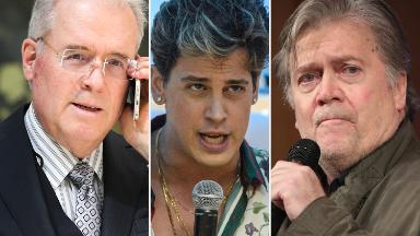 Robert Mercer says he'll sell Breitbart stake, distances himself from Bannon and Milo