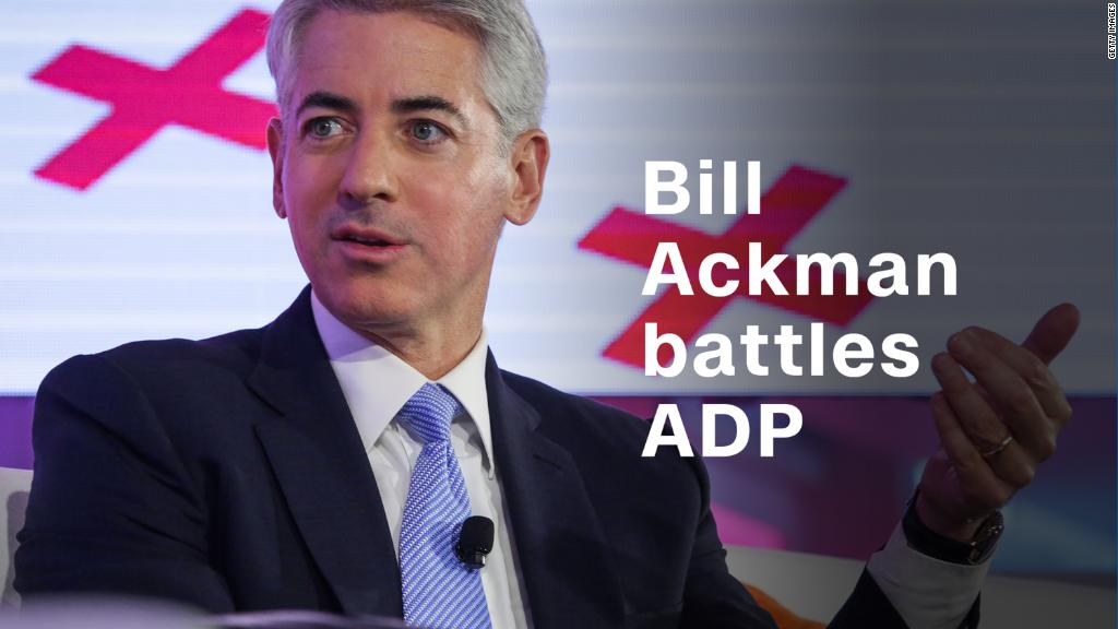Why Bill Ackman is taking on ADP