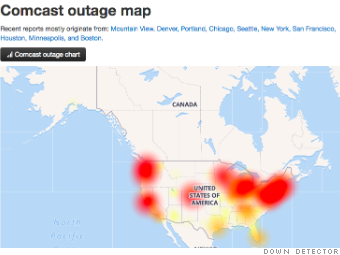 Here's why you may have had internet problems today on