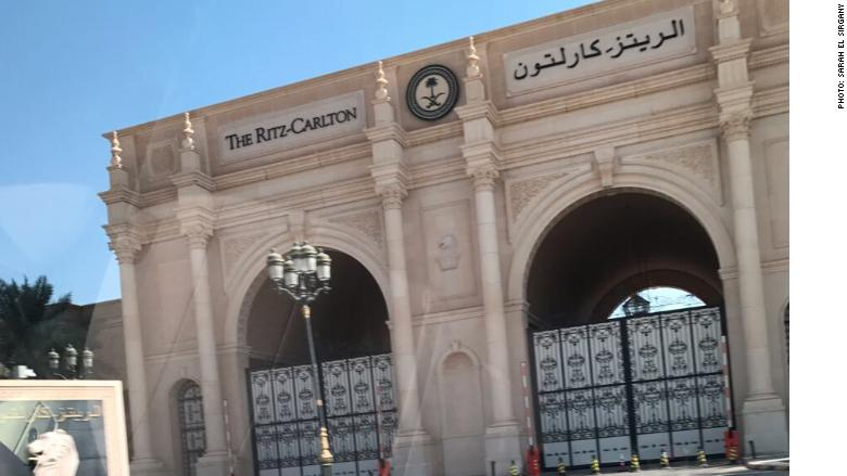 Riyadh Ritz carlton closed