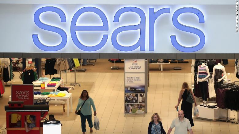 Now closing: 64 Kmart and 39 Sears stores