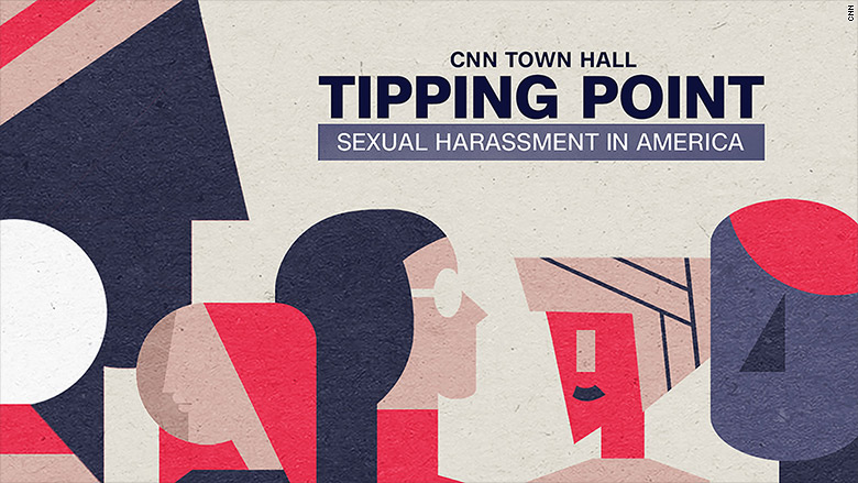 metoo town hall illustration card