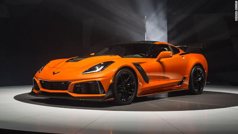 gm unveils fastest corvette ever. Black Bedroom Furniture Sets. Home Design Ideas