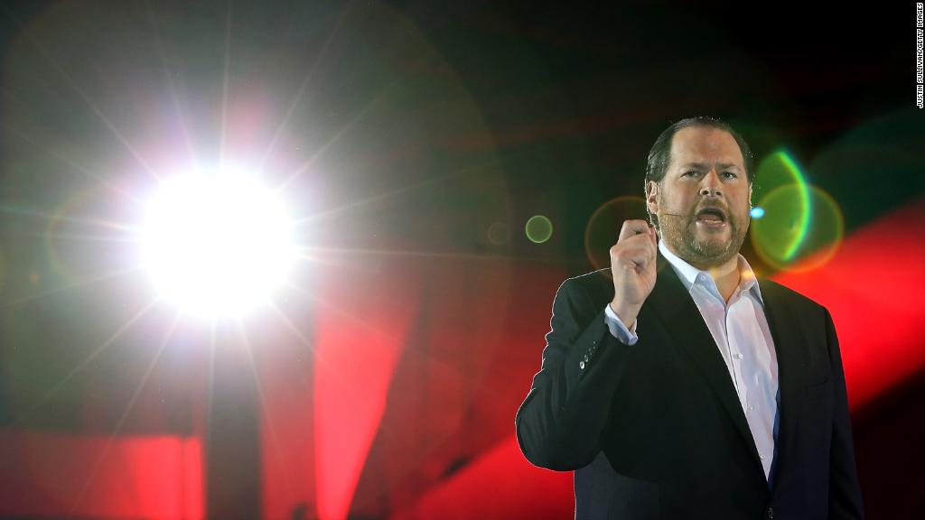 Salesforce CEO on equality: 'We're at a precipice'