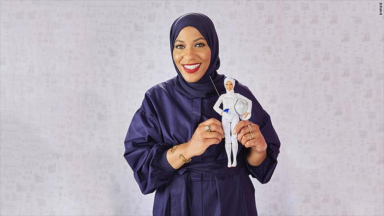 Barbies First Hijab Meet The New Ibtihaj Muhammad Doll