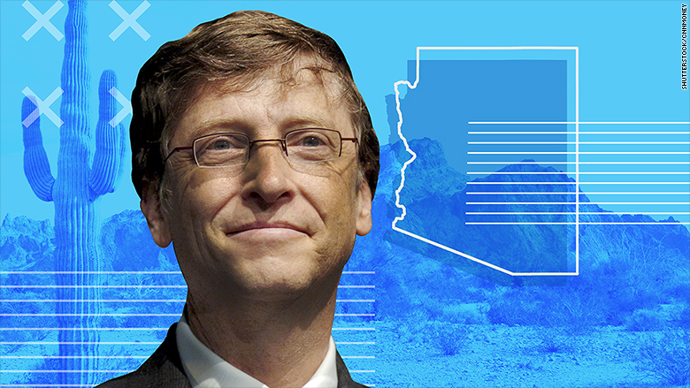 Bill Gates Invests 80 Million To Build Arizona Smart City
