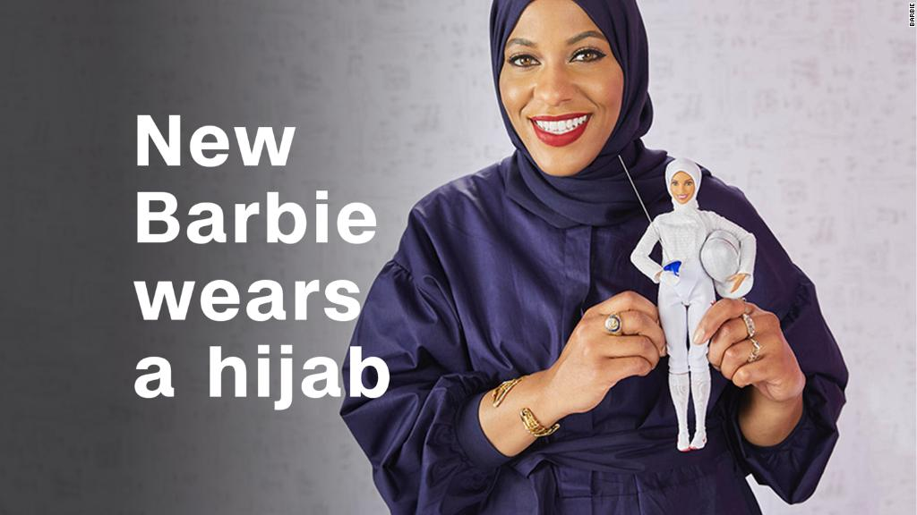 New Barbie wears a hijab