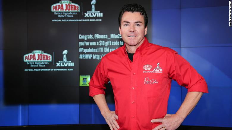 Papa John's founder says it was a 'mistake' to resign