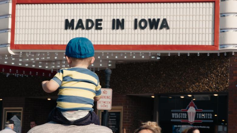 iowa baby outside square film premiere