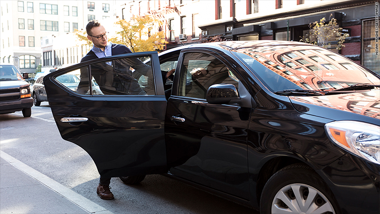 ride share pickup drop off