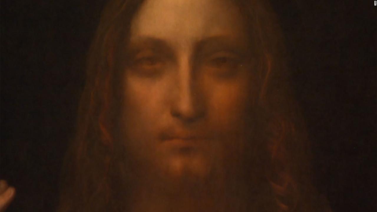Salvator Mundi Leonardo Da Vinci >> Moment Da Vinci painting sold for $450 million - Video - Luxury
