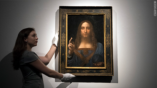 Salvator Mundi Cost >> Revealed The Mystery Buyer Of The World S Most Expensive Painting