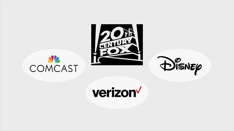 comcast fox disney verizon