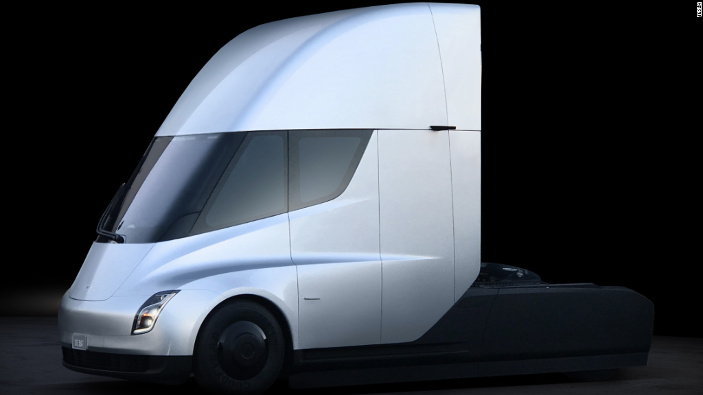 Tesla Unveils Semi Truck And New Sports Car