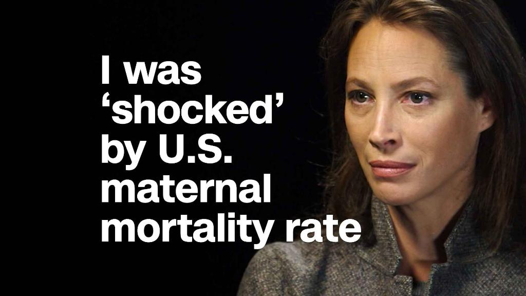Christy Turlington Burns: I was 'shocked' by U.S. maternal mortality rate
