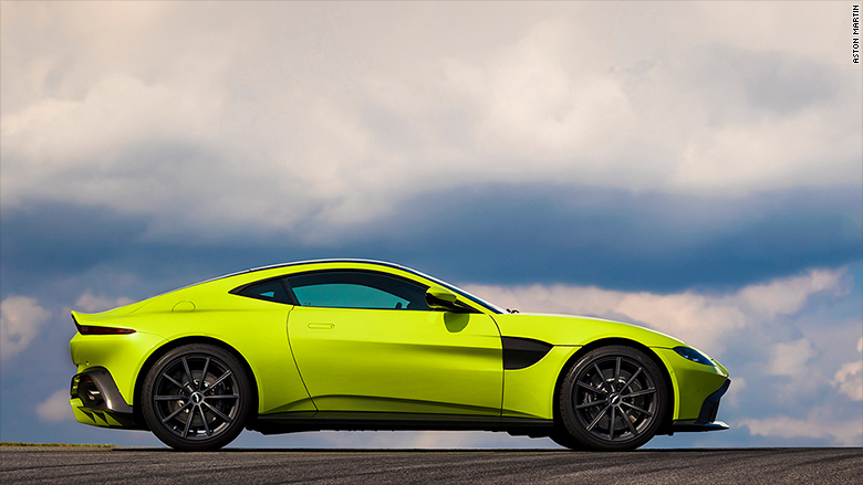 Aston Martin reveals all-new 503-horsepower 'entry level ...