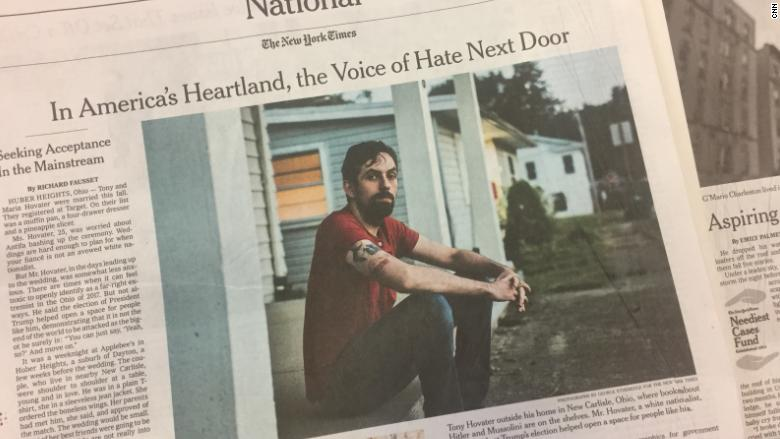 NYTimes nazi sympathizer next door