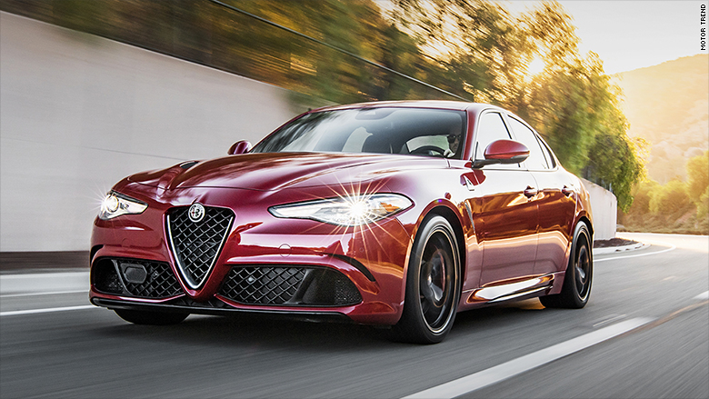 Alfa Romeo Giulia Named Motor Trend Car Of The Year