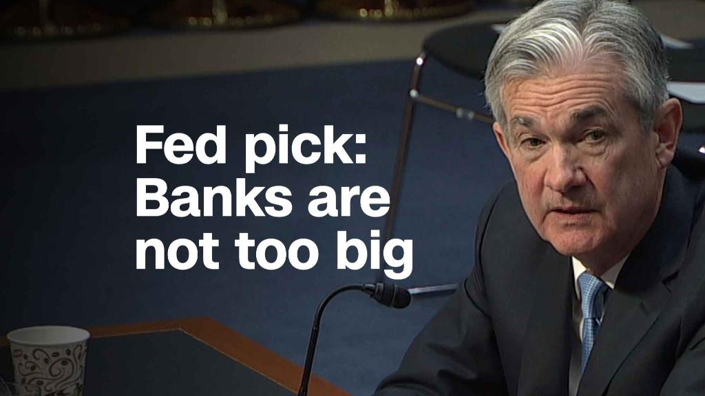 Fed pick: Banks are not too big to fail