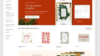 This stationery company wants to be your holiday party go-to