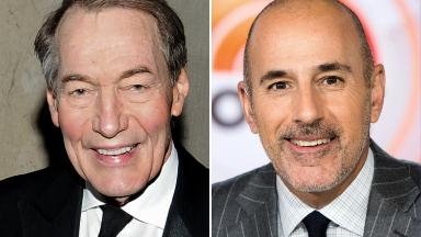 Who will take over for Matt Lauer and Charlie Rose?