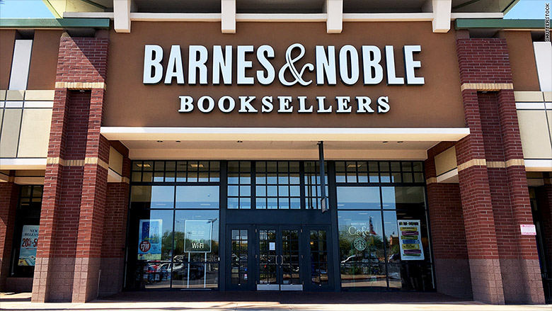 Former Barnes & Noble CEO Sues Over His Firing by Julia Horowitz for CNN Money