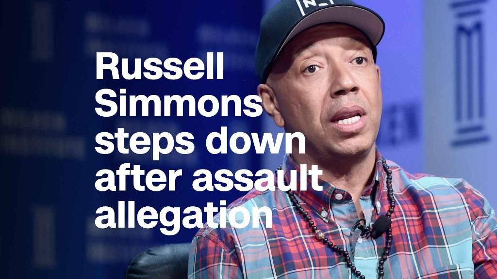 Russell Simmons steps down after assault allegation
