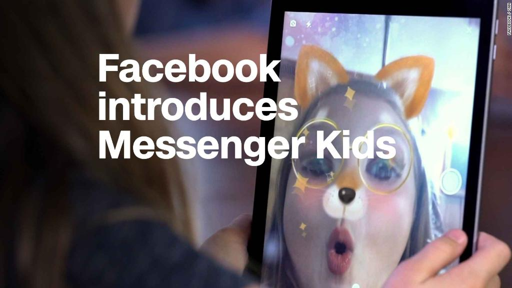 Facebook introduces Messenger Kids