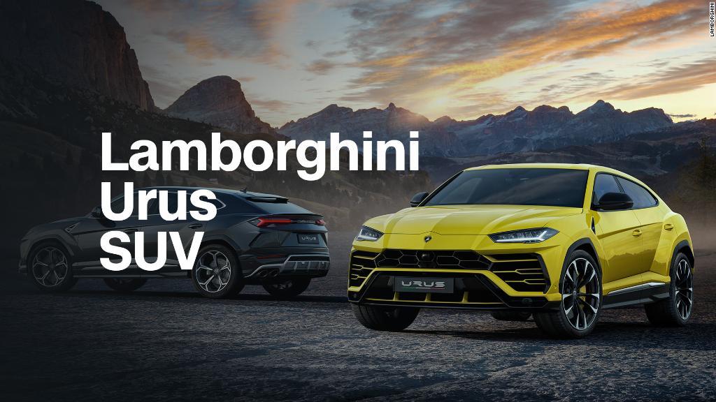 Lamborghini Urus: World's fastest SUV