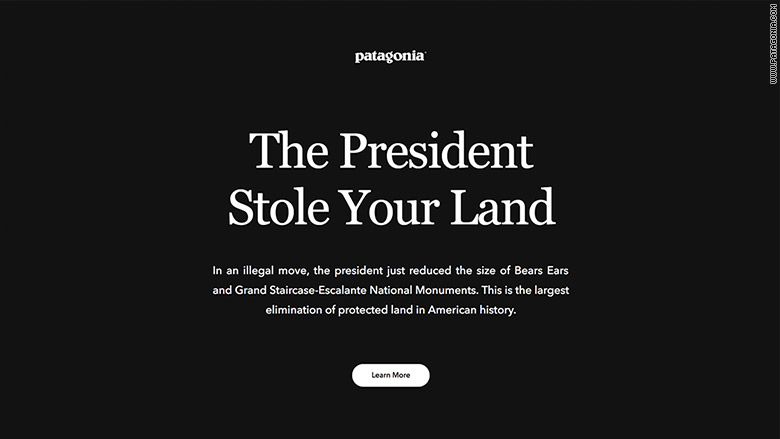 Patagonia To Sue Trump The President Stole Your Land