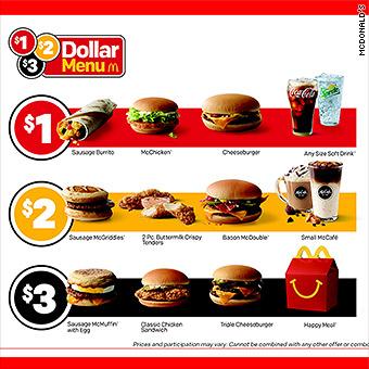 Mcdonalds Is Introducing Its  Dollar Menu In January 2018