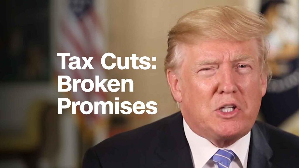 Tax cuts: Broken promises