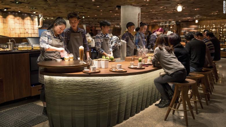 Starbucks Reserve Roastery Shanghai coffee