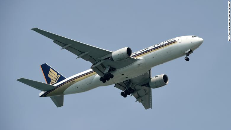 Singapore Airlines changed U.S. route because of North Korean missiles