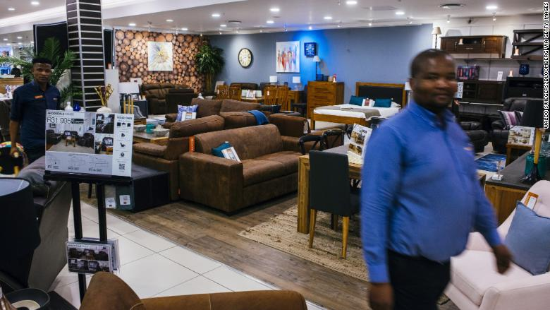 Steinhoff International store retail furniture africa