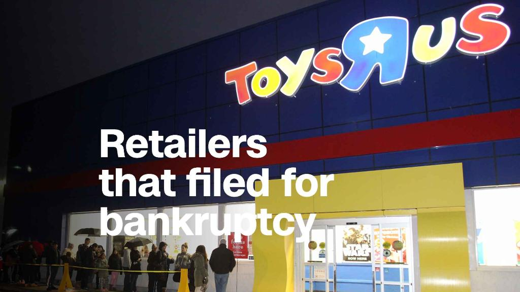 These retailers filed for bankruptcy