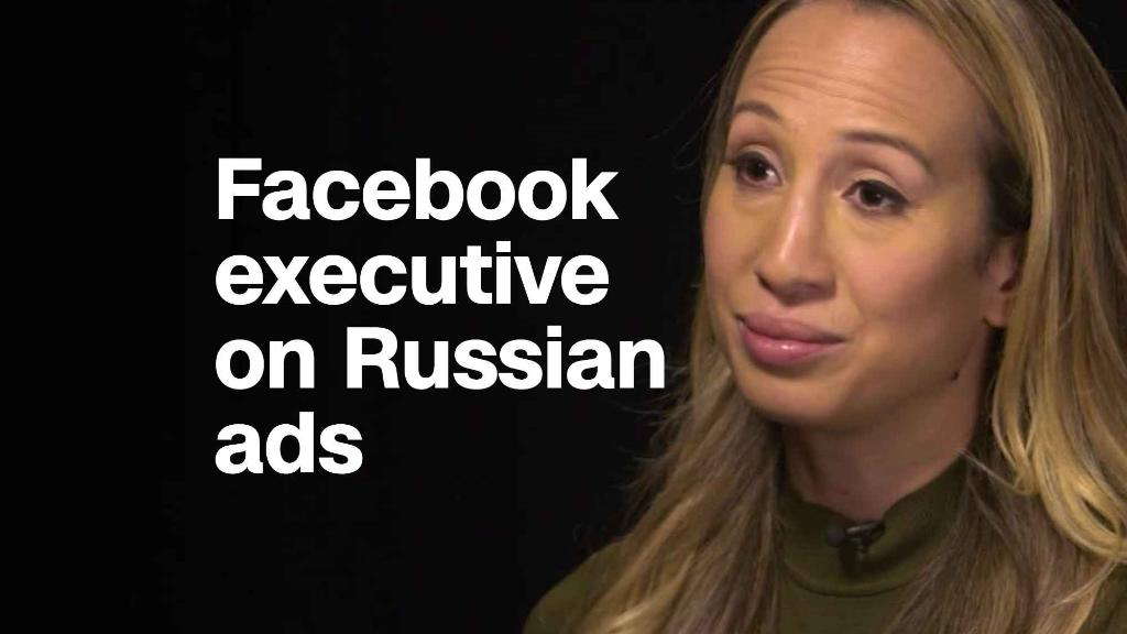 Facebook exec on Russian election meddling: 'We need more ads transparency'