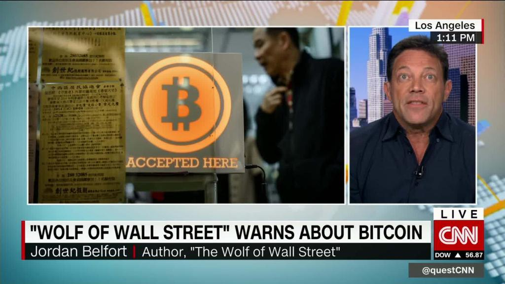 Wolf of Wall Street's bitcoin warning