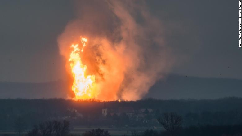 austria gas explosion