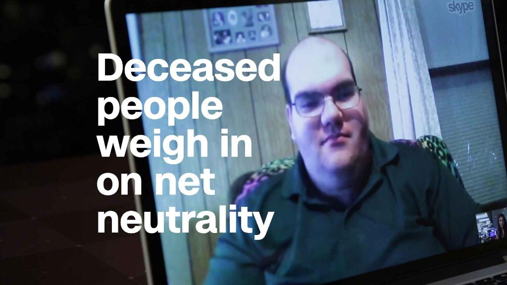 Stolen identities, deceased weigh in on net neutrality