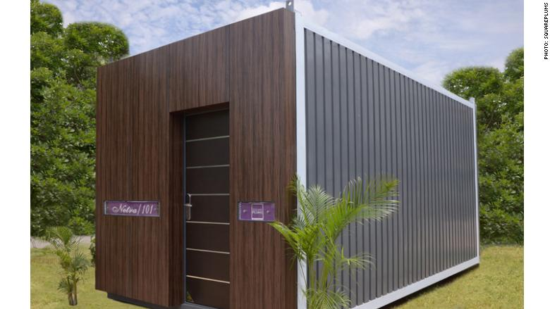 squareplums container home